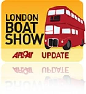 See Foiling Catamaran at Tomorrow's London Boat Show