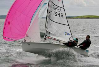 RS200 sailing on Strangford Lough
