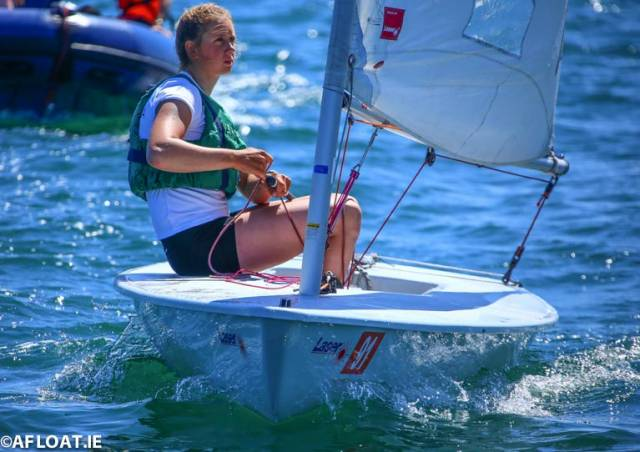 The National Yacht Club's Clare Gorman will compete in the Laser Radial class at Royal Cork