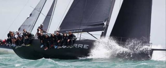 Dutch Grand Master, Piet Vroon is back, as skipper of Ker 51, Tonnerre 4, taking another tilt at the championship in IRC Zero