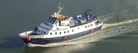 On Friday, 6th July, St. Bridget will make its inaugural visit to Bray with 100 passengers on board