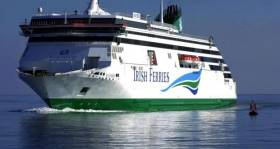 Earnings at the container and ferries operator, ICG group rose 19.6%, driven by car and freight volumes. Above is Irish Ferries flagship, Ulysses that operates on the premier Dublin-Holyhead route