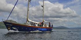 Celtic Mist will be open for tours this Sunday 20 May at Dublin's Grand Cana; Dock
