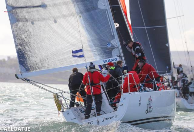 John Maybury steers Joker II to overall victory at the J109 Irish Championships on Dublin Bay