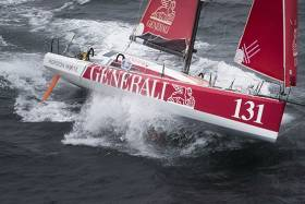 Joschke Suffers Damage to Her Boat in Transat