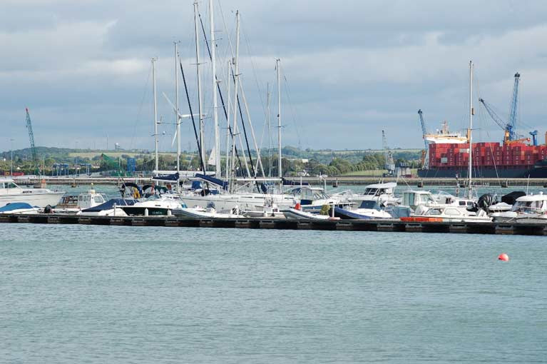 Cork Harbour Marina at Monkstown Bay