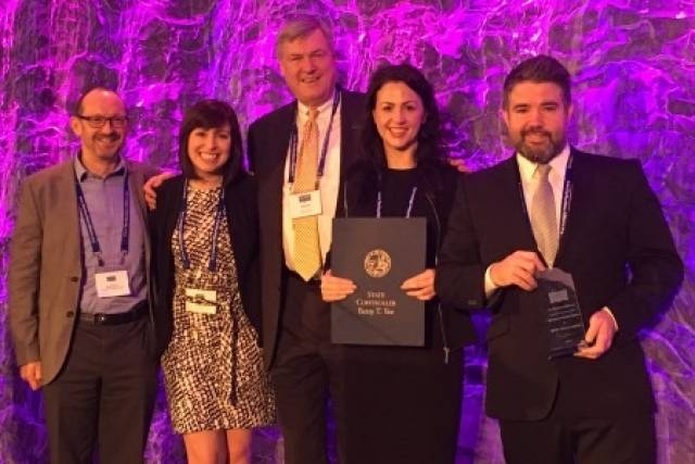 The Irish organisation received their award from San Diego-based non-profit industry association The Maritime Alliance (TMA) at the annual Blue Tech & Blue Economy Summit in San Diego