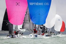 Class 2 is having some of the most competitive racing at the Commodore's Cup