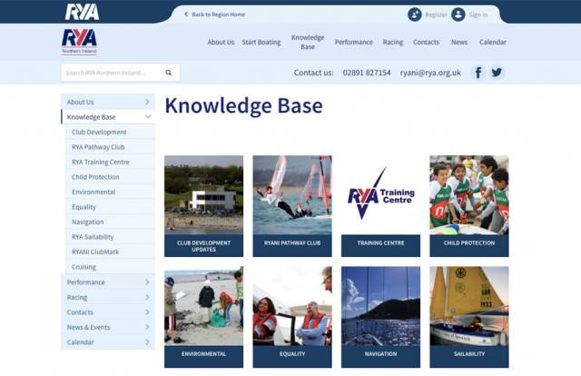 RYANI Website 'Knowledge Base' Brings Together Key Resources For Cruising, Navigation & Environment