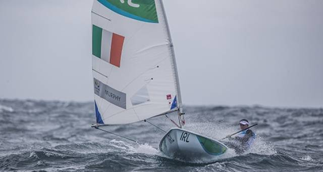 Annalise Murphy – sailed a solid qualifying series in Rio