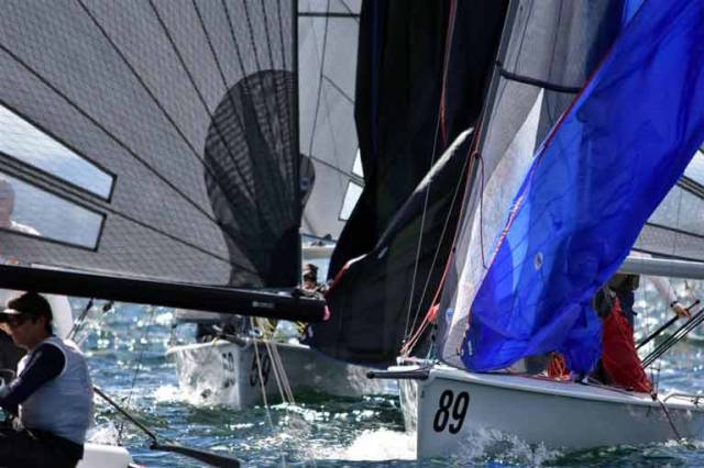 Two more days of racing remain with seven races scheduled at the SB20 Worlds in Hobart