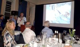 Annalise Murphy gave a first-hand account of her experience in the Volvo Ocean Race at the NYC