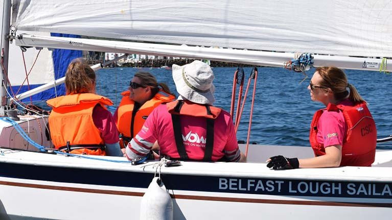 RYA Northern Ireland Women on Water Goes Online
