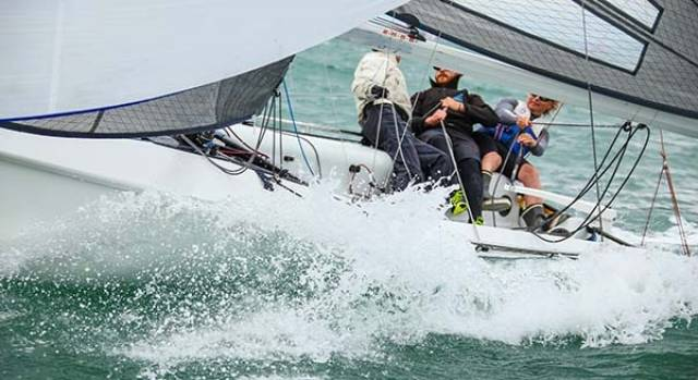 Ger Dempsey will steer Royal Irish YC entry Venuesworld with Chris Nolan, Maeve Judge and Blair Stanaway on board