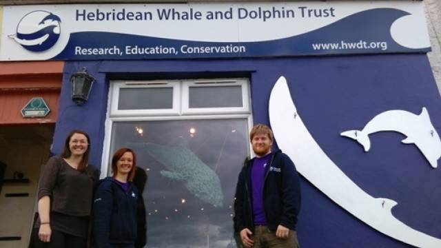 The Hebridean Whale and Dolphin Centre is located on Tobermory's picturesque harbour front