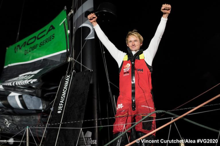 Maxime Sorel brings V and B Mayenne home in tenth place in the Vendee Globe
