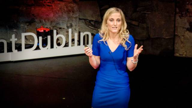 Dr Triona McGrath gave her talk on ocean acidification at TEDxFulbrightDublin on 6 February 2016