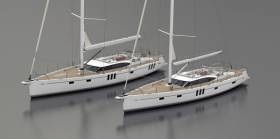 Oyster yachts 565 and 595