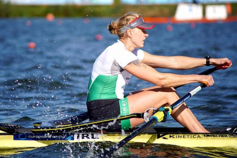 Women's Single Scull – Sanita Puspure finished first in the World Championships 2019