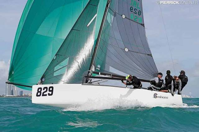 Maurice O'Connell Lecture on Melges 24 Worlds Win at RIYC