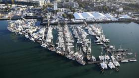 Southampton boat show 2016 – In total some 750 boats were on display, with over 330 of the world's leading sailboats and high-performance powerboats on the water