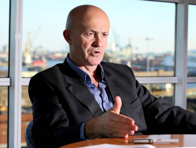 Eamonn O'Reilly, CEO of Dublin Port Company
