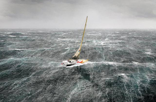 Extreme sailing conditions