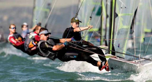 49er World Championship Gold Fleet Success for Dickson & Waddilove, Seaton & Guilfoyle in Silver