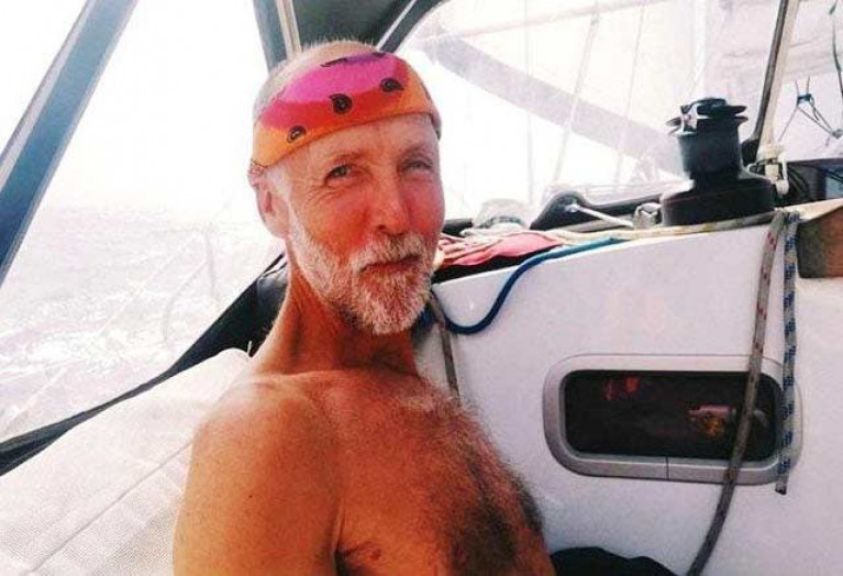 "When Garry Crothers goes voyaging alone, the categorization of ""single-handed sailing"" has extra meaning."
