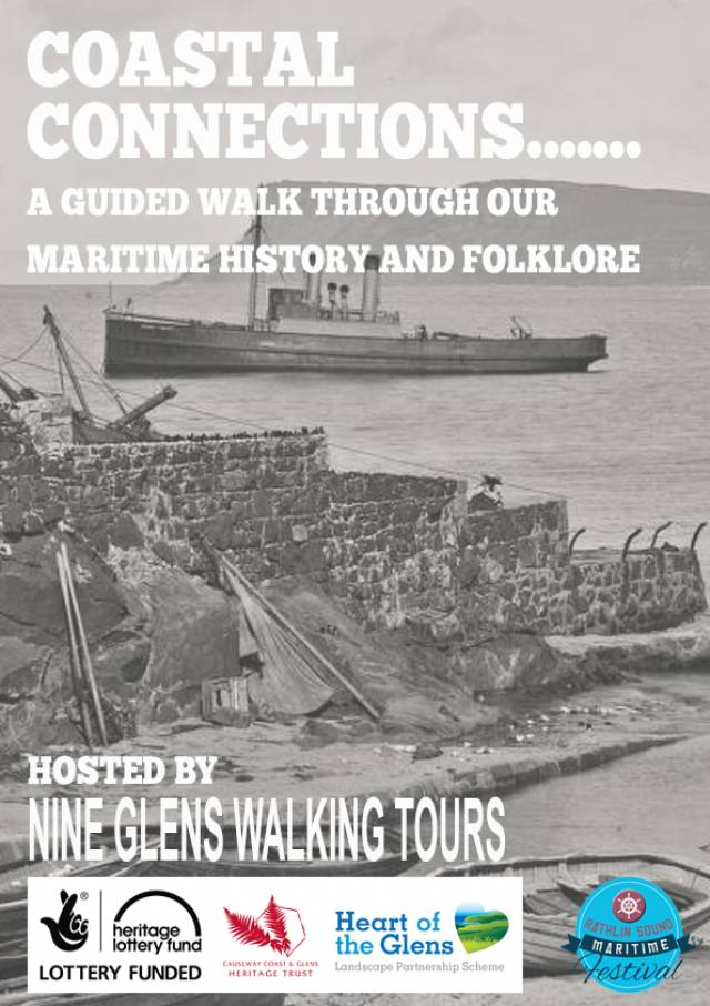 Guided walking harbour heritage tours will be part of the Rathlin Sound Maritime Festival