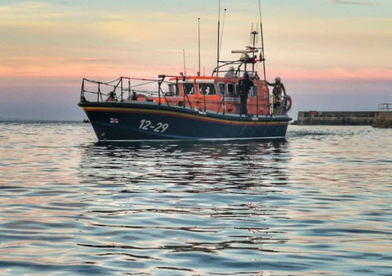 File image of Newcastle RNLI's all-weather lifeboat