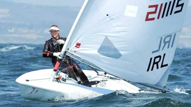 How Laser Champion Aoife Hopkins Balances Sailing & Study