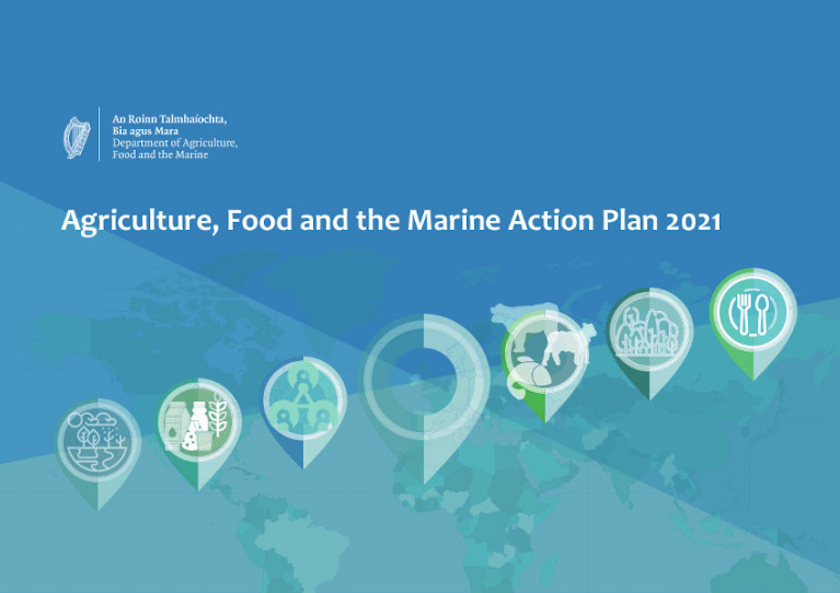 Minister Publishes Agriculture, Food and the Marine Action Plan 2021