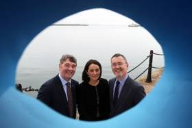 Our Ocean Wealth Summit: Marine Institute CEO Peter Heffernan, Yvonne Thompson, Partner at PwC and Jim O'Toole, CEO of BIM, Ireland's Seafood Development Company at the launch of Our Ocean Wealth Summit 2018 sponsored by PwC, which takes place on 28 and 29 June in Galway.