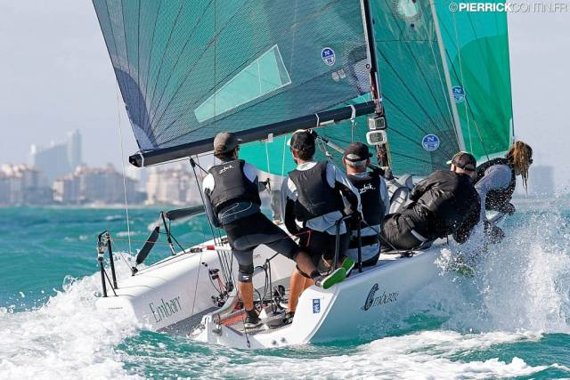 Ireland's Embarr on Brink of Melges World Championship Victory; Two Races Left To Sail