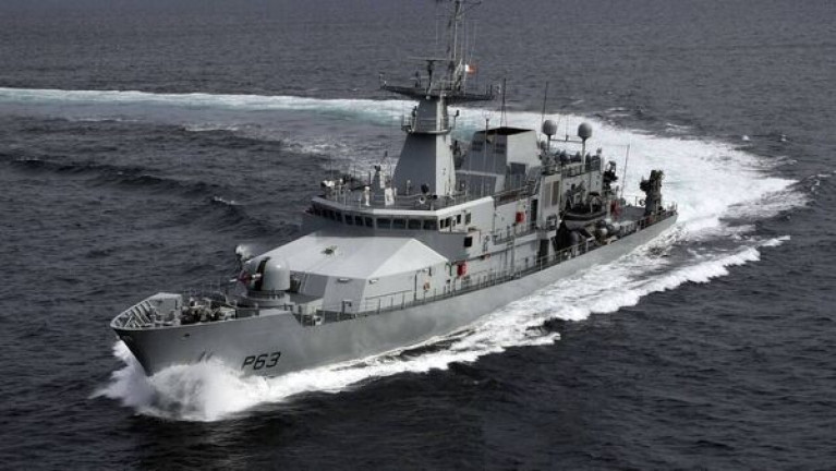 Above Naval Service's OPV90 LÉ William Butler Yeats: Michael O'Sullivan, the executive director of the EU Maritime Analysis and Operations Centre — Narcotics (MAOC-N), said Europe will be 'flying blind' if the Irish Naval Service and the Air Corps do not deploy their ships and their planes to track vessels.