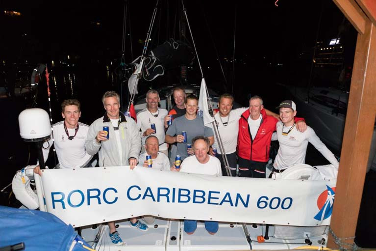Boyd, King & Murphy are IRC One Winners of RORC Caribbean 600
