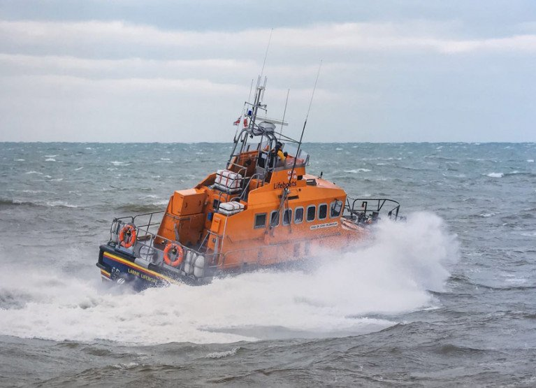 File image of Larne RNLI's all-weather lifeboat