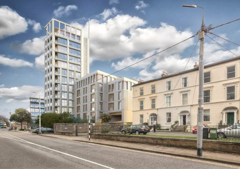 High-Rise Housing Development Planned for Site Near Dun Laoghaire Waterfront