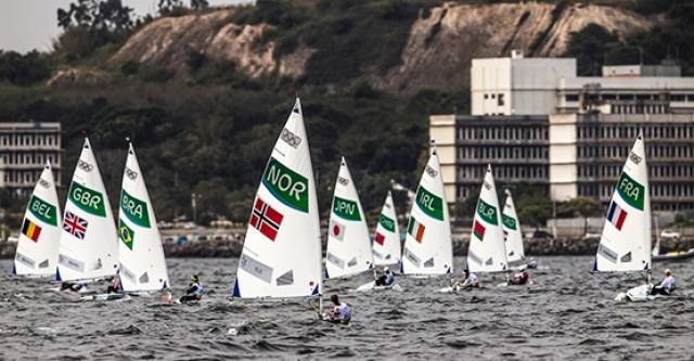 Ireland's Annalise Murphy is well placed in the Radial class after a strong second day on Rio waters. She scored a fourth and a seventh in the 12–knot winds on the Ponte course