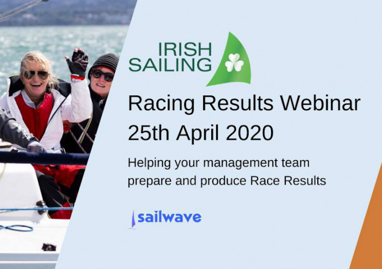 Irish Sailing Hosts Free Racing Results Webinar This Weekend