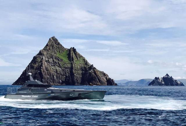 Safehaven Marine's High Speed Trial From Cork to Galway in 'Thunder Child'