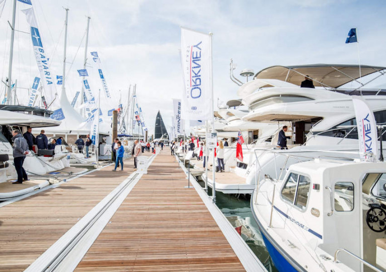 Top brands will exhibit their boats at the socially distanced outdoor show next in Southampton next month