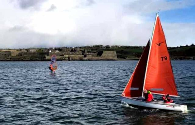 Squib racing in Kinsale
