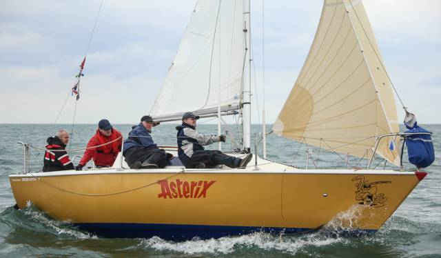 The Hunter Sonata 7 Asterix (Boushel/Meredith/Counihan) was a DBSC class three winner