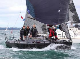 Beneteau First 8 F'n Gr8 from Carrickfergus Sailing Club