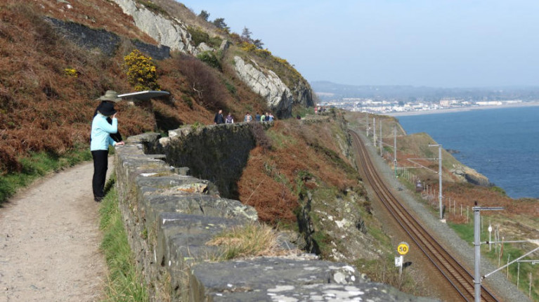 The popular Cliff Walk between Bray and Greystones topped the Irish Independent readers' poll