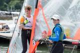 New 29er skiff combination Harry Durcan (left) and Dublin's Tom Higgins competing in RCYC's At Home Regatta. Scroll down for a photo gallery across the fleets