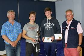 420 National Champions Douglas Elmes and Colin O'Sullivan (centre)
