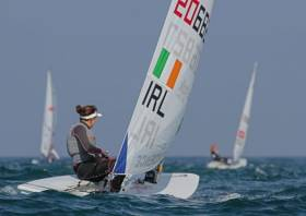 Solo sailor Annalise Murphy qualified Ireland for the Laser Radial in Santander at the earliest opportunity in 2014.